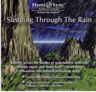 N/A – Sleeping through the rain - hemi-sync fra bog & mystik