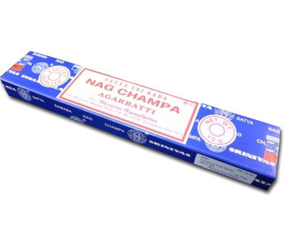 N/A – Nag champa røgelse - 40 gram - røgelsespinde fra bog & mystik