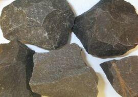 Onyx sort rå - pr sten fra N/A på bog & mystik