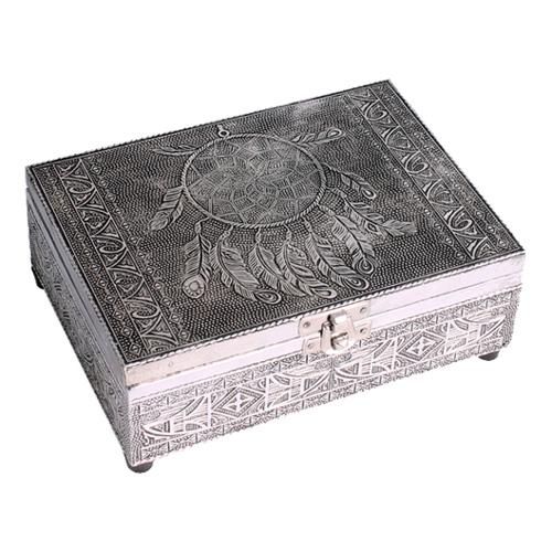 N/A – Tarotkort /englekort æske med drømmefanger på bog & mystik