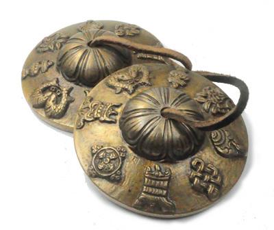 N/A Tibetanske klokker - bedeklokker fra bog & mystik