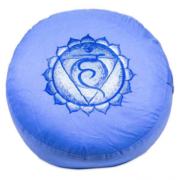 Meditationspude 5 Chakra - Vishuddaishudda - Halschakraet