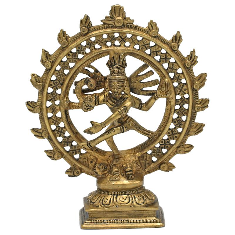 Image of   Shiva Nataraja - messing