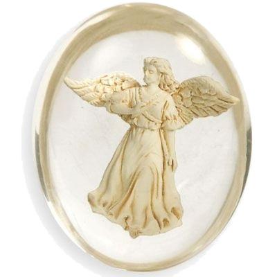 N/A Worry stone - healing - angelstar på bog & mystik