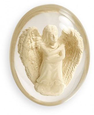 N/A – Worry stone - hope - angelstar fra bog & mystik