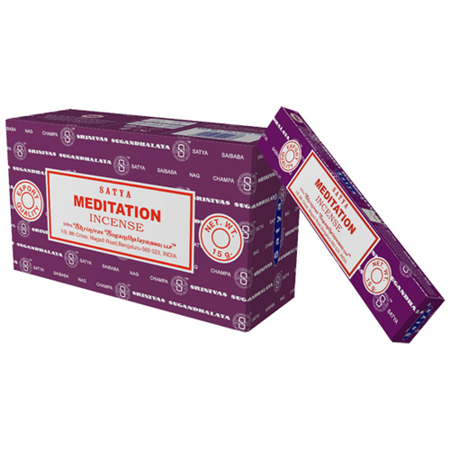 Satya Meditation røgelse - 15 gram - Røgelsespinde