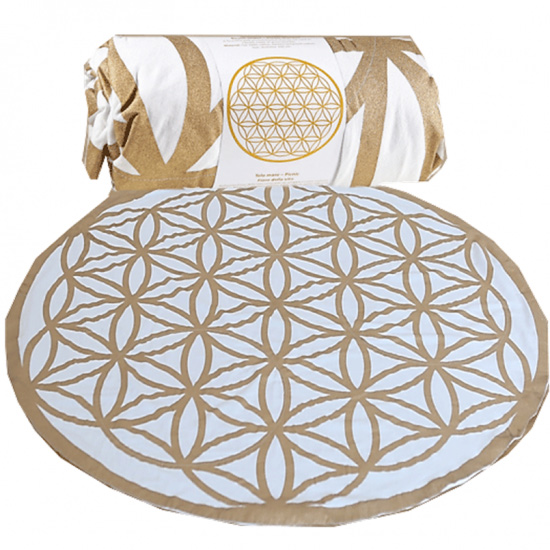 Image of   Flower of Life - Strand / picnic tæppe