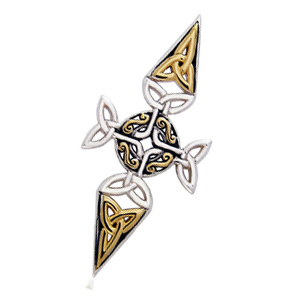 N/A Keltisk kors - 45mm - u/kæde fra bog & mystik