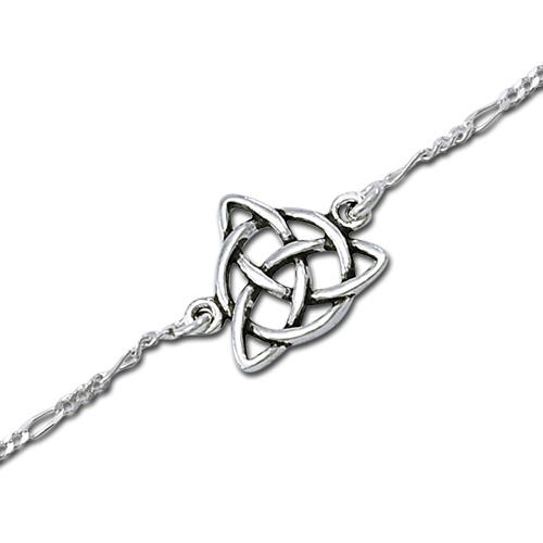 N/A Armbånd med treenighedssymbolet - 17cm på bog & mystik