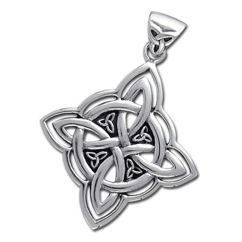 N/A – Keltisk livshjul - u/kæde fra bog & mystik