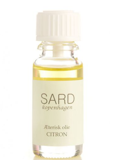 Image of   Æterisk Citronolie - 10 ml - Sard Kopenhagen