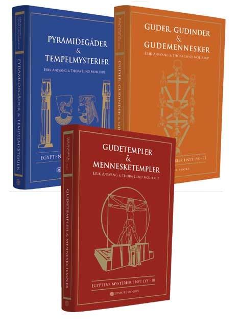 Egyptens mysterier - trilogi fra N/A fra bog & mystik