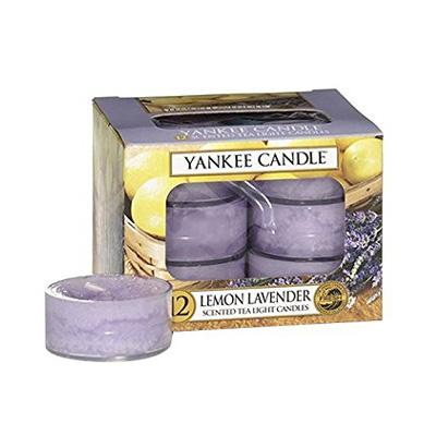 Image of   Duftlys - Lemon Lavender - Fyrfadslys - Yankee Candle