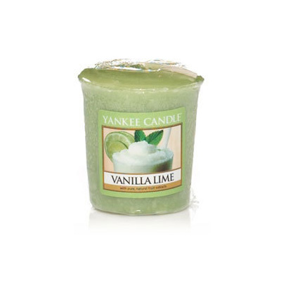 Duftlys - Vanilla Lime - Votives - Yankee Candle