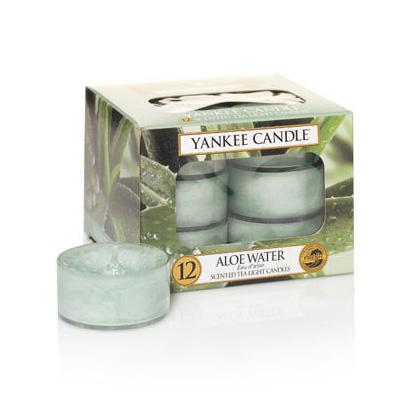 Image of   Duftlys - Aloe Water - Fyrfadslys - Yankee Candle