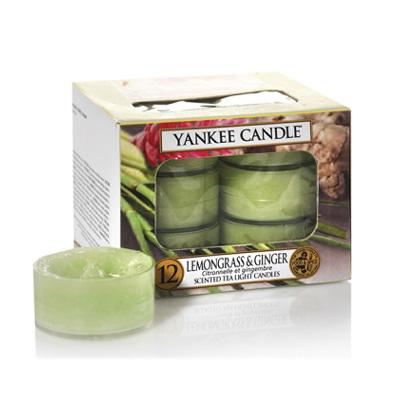 Duftlys - Lemongrass & Ginger - Fyrfadslys - Yankee Candle