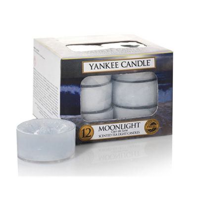 Image of   Duftlys - Moonlight - Fyrfadslys - Yankee Candle