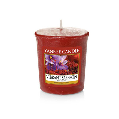 Image of   Duftlys - Vibrant Saffron - Votives - Yankee Candle